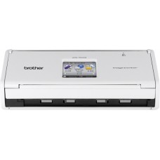 Brother - ADS-1500W Compact Wireless Color Desktop Scanner