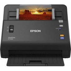 Epson - FastFoto Photo Scanning System - Black