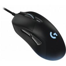 Logitech - USB Optical Gaming Mouse - Black