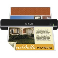 Epson - WorkForce DS-30 Portable Document Scanner - Black